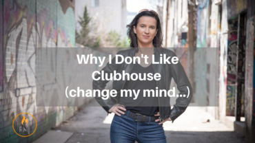 Why I Don't Like Clubhouse (change my mind…)